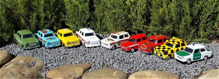 Trabant 601, Trabbi, Trabi, Feldjäger, Taxi, Polizei, Notarzt, Feuerwehr, Rallye, Rally