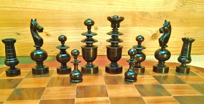 King 9cm  Pawn 4,8cm