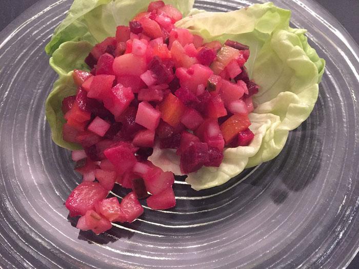 Russischer Salat-Vinaigrette