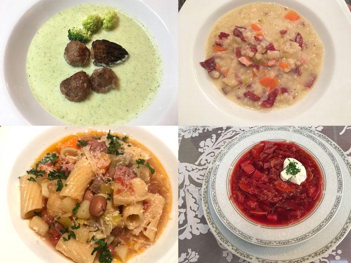 Suppen-Auswahl