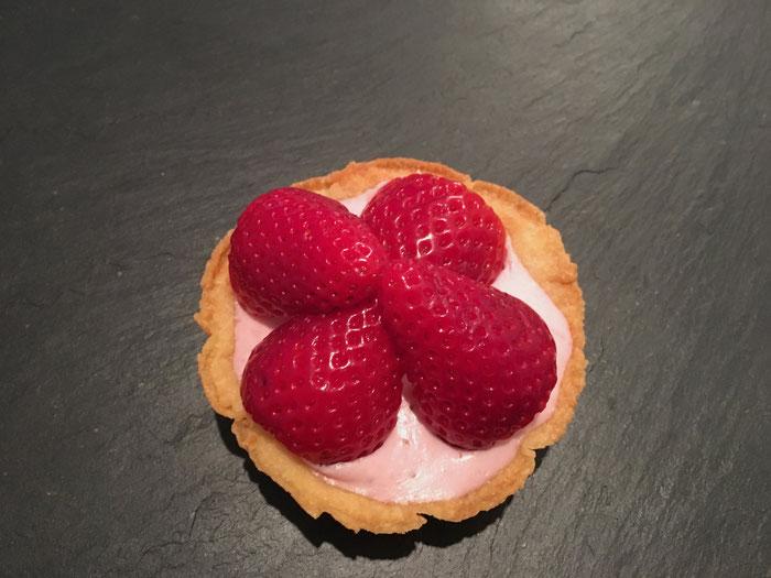 Erdbeeren-Tartelettes