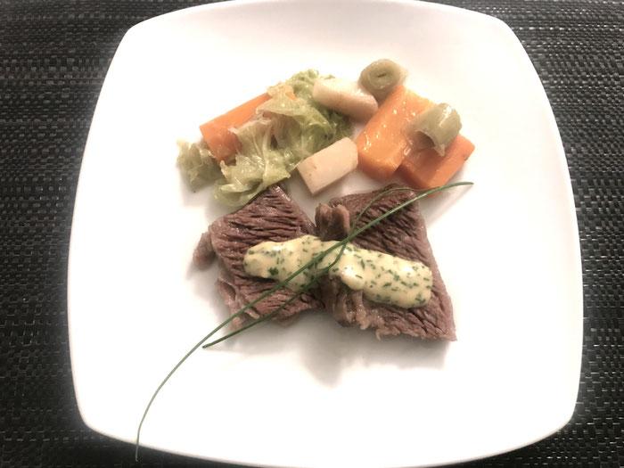 Siedfleisch mit Schnittlauchsauce