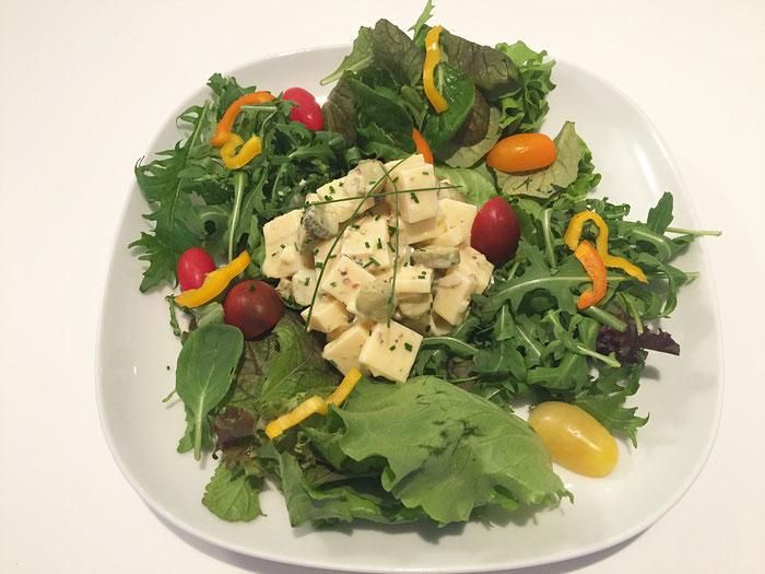Käse-Salat