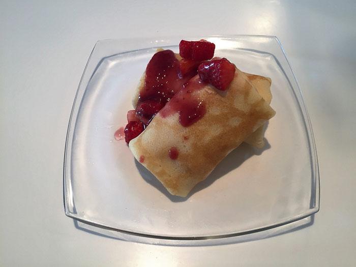 Erdbeeren - Blini