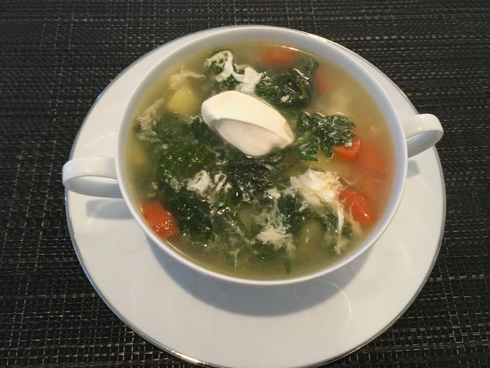Brennnessel-Suppe