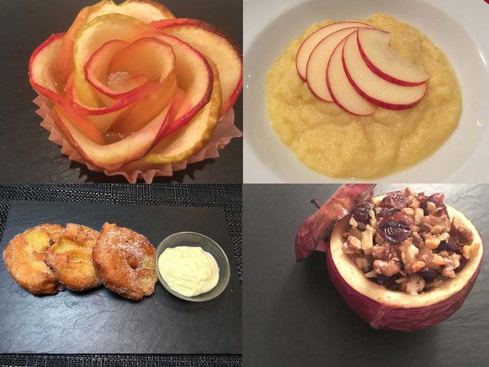 Apfel-Desserts