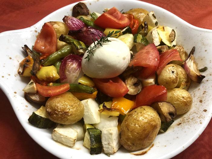 Gemüse aus dem Backofen