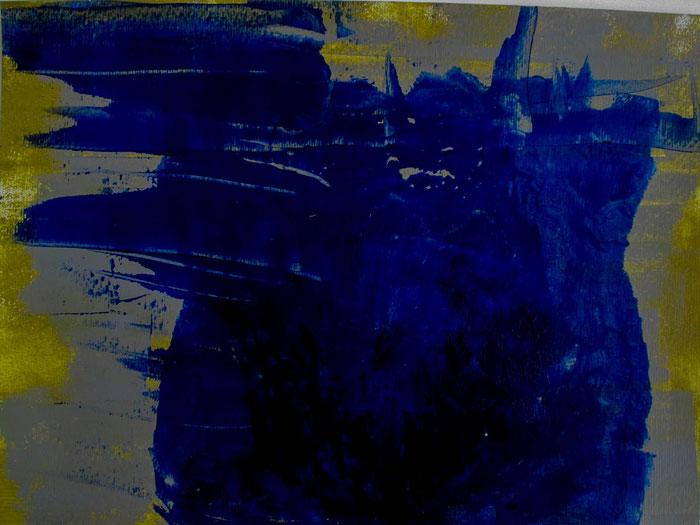"""""""This Nasty Thing Called Love"""", 2018. Acryl auf Mischtechnik-Papier. 40x29 cm."""