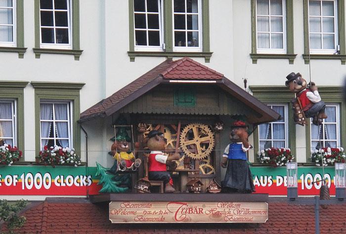 allemagne triberg coucous boutique horloge maison