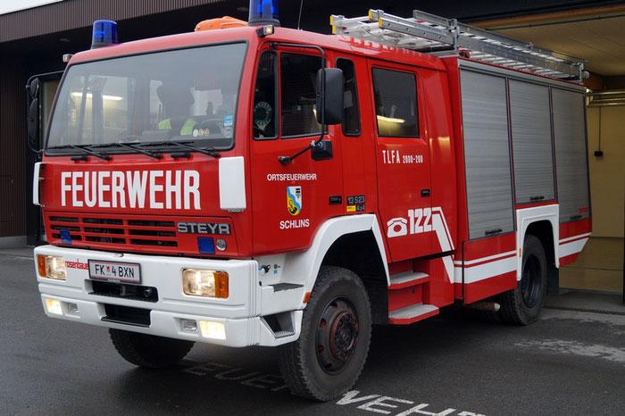 TLF - Tanklöschfahrzeug
