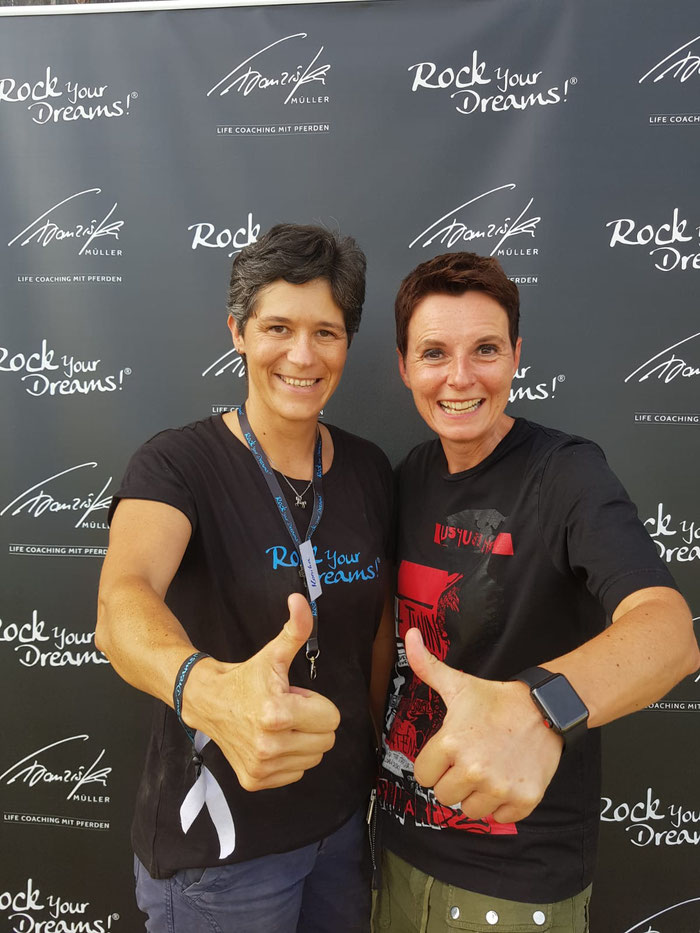 Im Team von Franziska Müller bei Rock your Dreams in Wemding. Mehr fantastisch geht nicht!!!