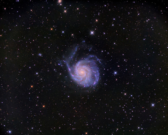 M101, Pinwheel Galaxie, Astrofotografie, Sony a7R III