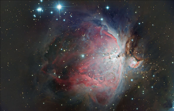 M42, Orionnebel, Astrofotografie,  QHY168c, EQ8, M-GEN