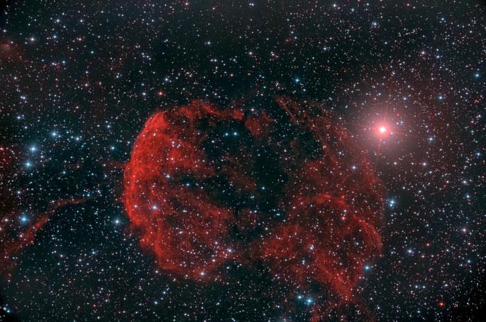 NGC 6334, Astrofotografie , Sony a7s, Schwan, Deep Sky, Teleskop