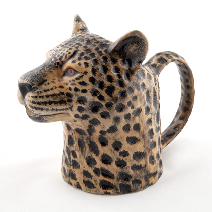 Kännchen aus Keramik im Leopardendesign - von Quail Ceramics