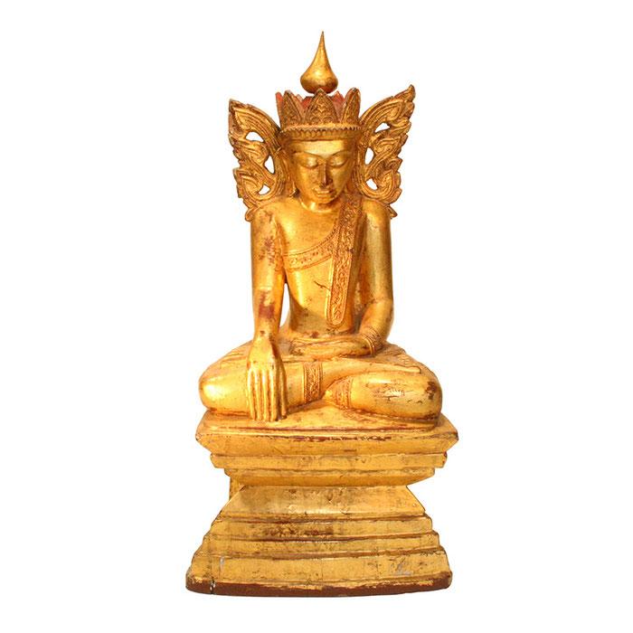 Seltene Buddhastatuen aus Burma