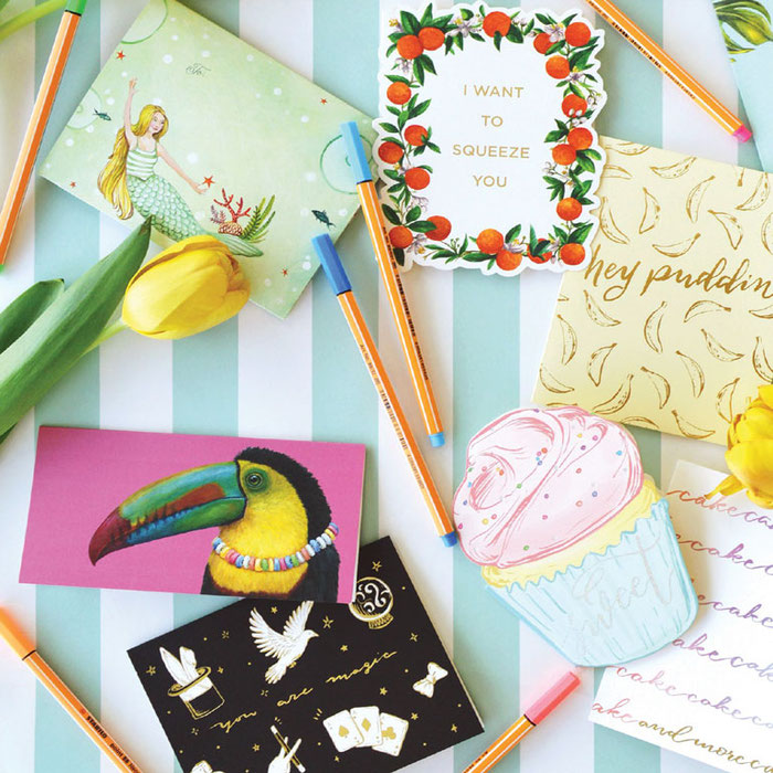 Papeterie - Geschenkkarten & Grußkarten von Hester & Cook
