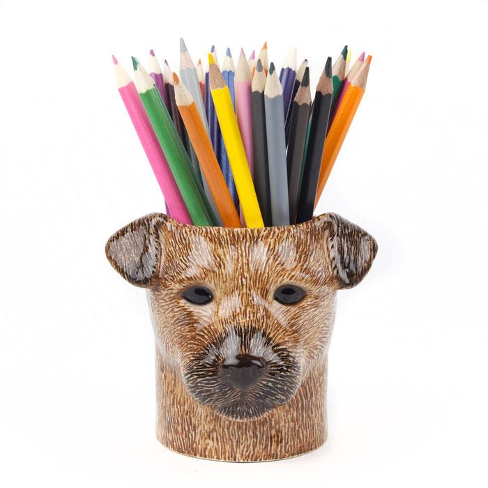 Keramikbecher Border Terrier von Quail Ceramics