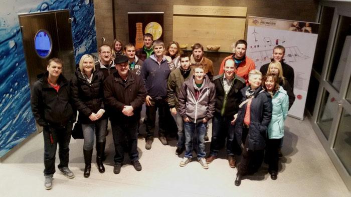 Elisabeth Wittmann besichtigt mit Familie und Freunden die Karmeliten-Brauerei in Straubing!