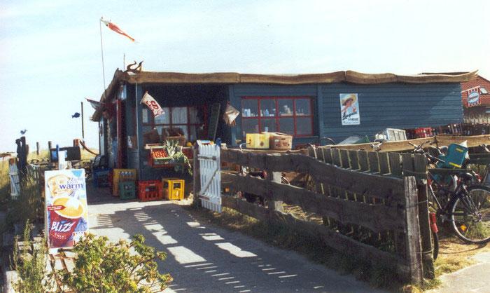 Der Kiosk Mitte der 90er Jahre
