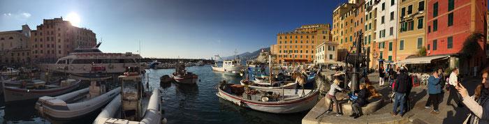 Holiday apartments Genoa  - trip to Camogli