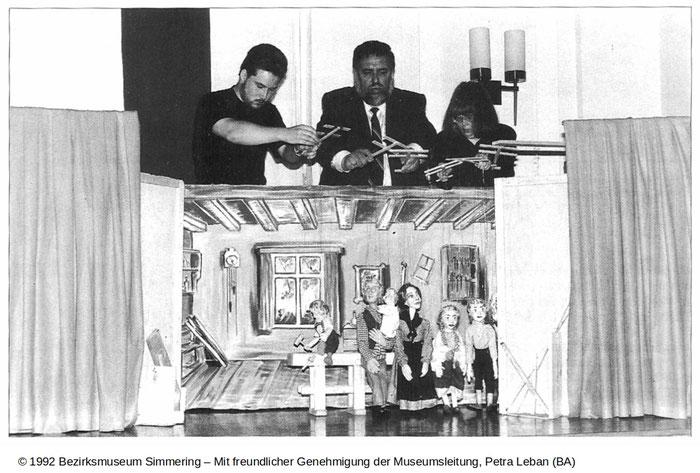 (c) 1992 Bezirksmuseum Simmering - Raimunds 'Verschwender'