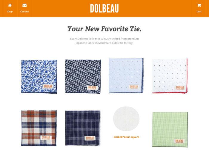 Combinación de tonalidades naranjas en un sitio web.