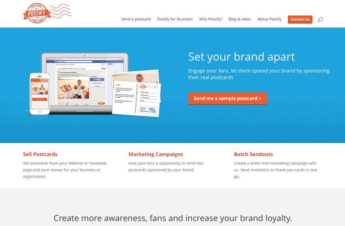 Combinación de tonalidades azules en una web.