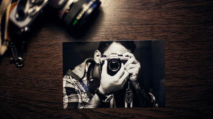 Film Selfie Olympus OM 10 | Fuente: http://splitshire.com