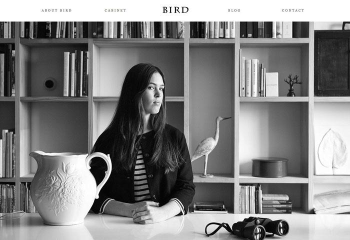 Página web con tonalidades grises.