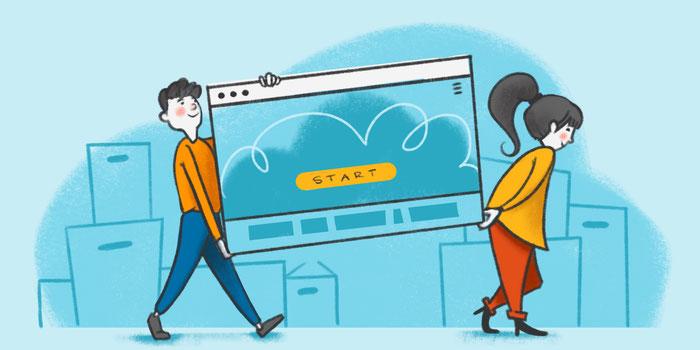 Trasladar tu página web a otra plataforma
