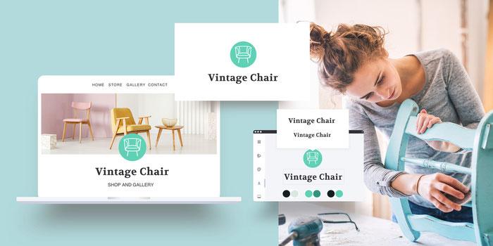 Diseña tu propio logo con Jimdo