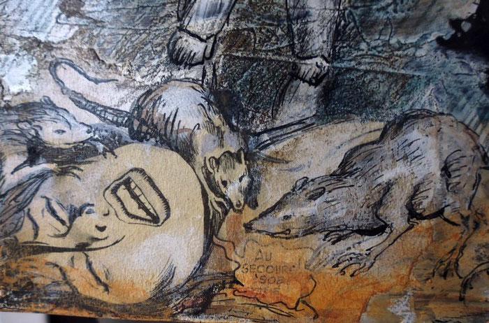 Ratten und Pest - ein wahres Horror-Szenario. Als seien Kriege und Hungersnöte nicht schon Plage genug gewesen...