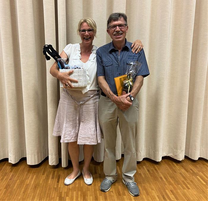 Unsere externen OK-Mitglieder Musiktag 2020: Esther Bregy und Rubi Meier (es fehlt Thomas Isler)