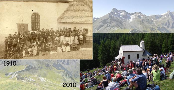 Wallfahrt einst und jetzt (c) Erlebniswelt_Holz