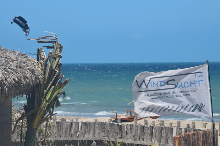 Kitereisen, WindSucht macht Station in Prea bei Jeri, Team WindSucht der Kiteprofi aus NRW, Brasilien Tourn mit WindSucht