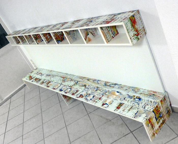 Garderobe für eine Kindertagesstätte (Design: Brandt | Boje)