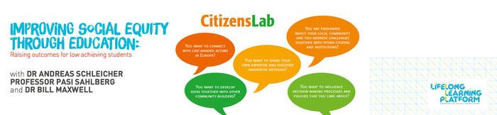 EFFE organisiert Konferenzen, ist ein Mitglied von CitizensLab und von Life Long Learning Platform