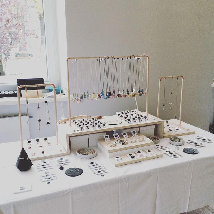 Marktstand Belle Accessoires, Tandwerk 2015