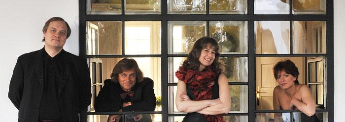 Menuhin Festival Piano Quartet: Troels Svane, Friedemann Rieger, Nora Chastain, Silvia Simionescu