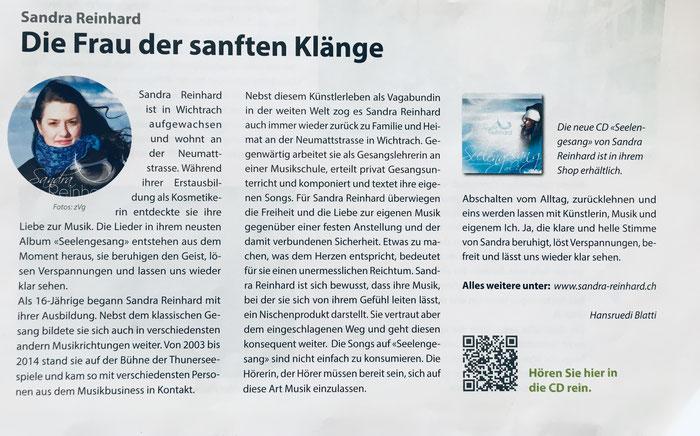 Quelle Drachenpost Wichtrach Juni Ausgabe 2019