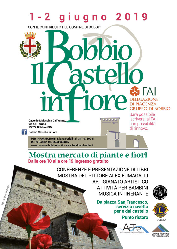 Bobbio Il Castello in Fiore 1-2 giugno