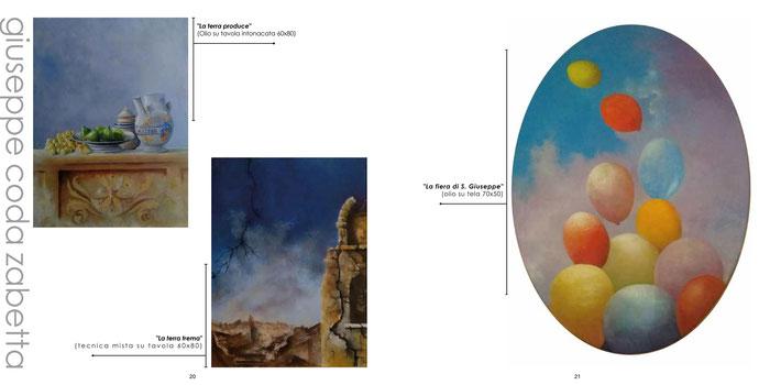 "ArTre - ""ARTE E NUOVI DIALOGHI""  TERRA - I Materici III ed. 2018 Giuseppe Coda Zabetta"
