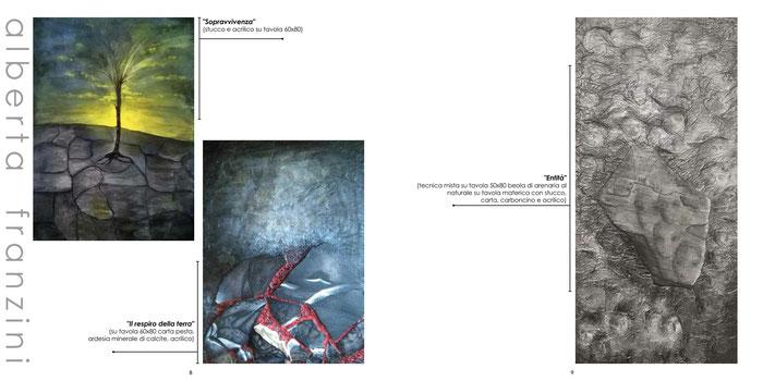 "ArTre - ""ARTE E NUOVI DIALOGHI""  TERRA - I Materici III ed. 2018 Alberta Franzini"