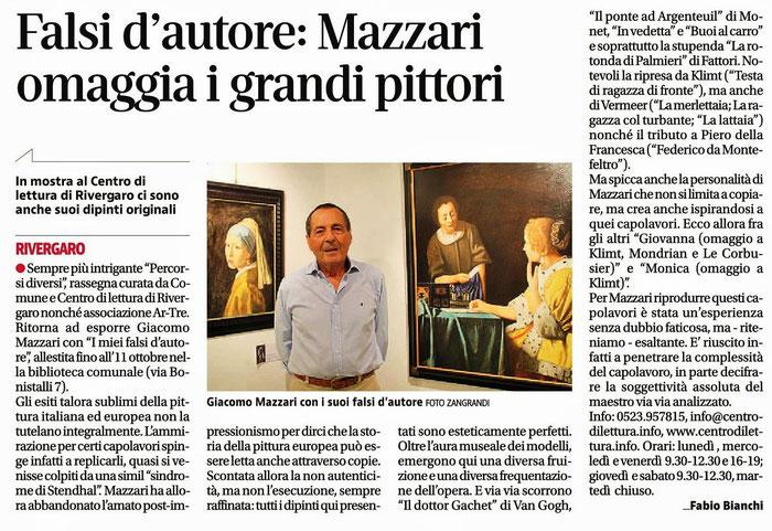 quotidiano libertà - Giacomo Mazzari
