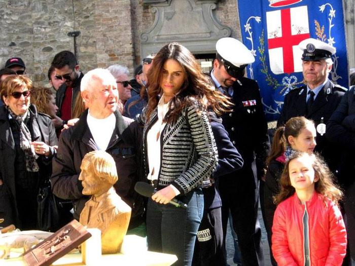 """domenica 31 marzo, ArTre Artigiani Creativi Val Trebbia è stata ospite per la seconda volta della trasmissione """"Mezzogiorno in Famiglia"""". Presente per noi Cesarino Sartori."""