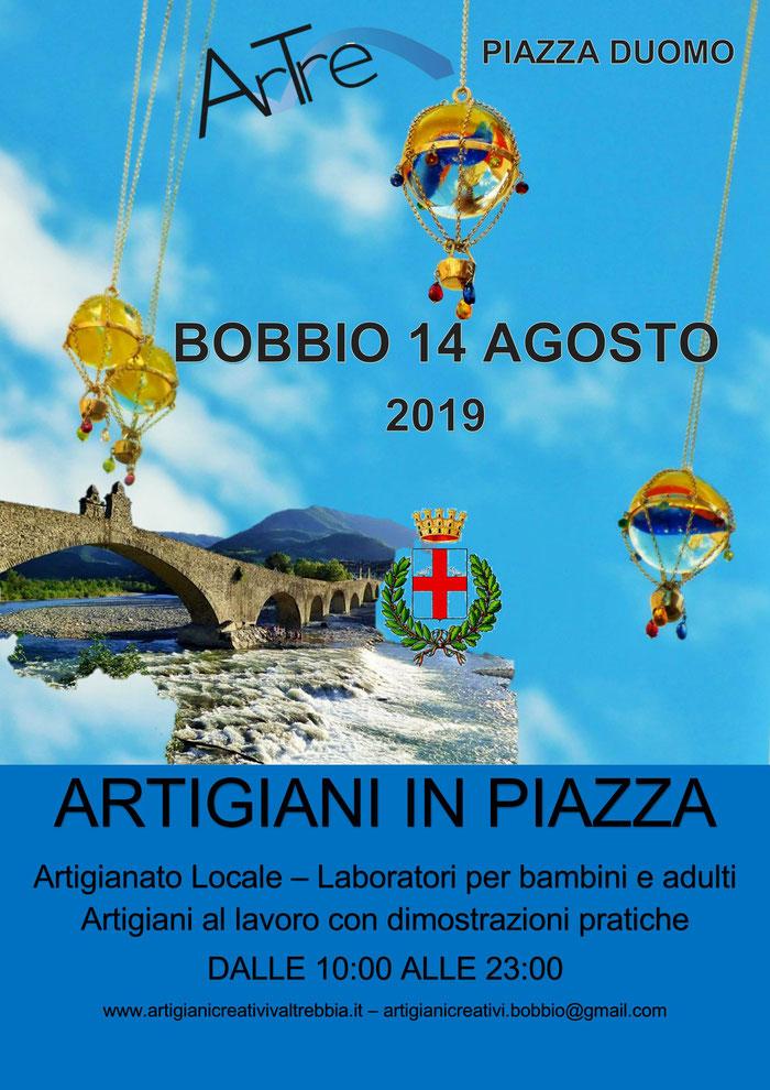 Bobbio 14 agosto Artigiani in piazza