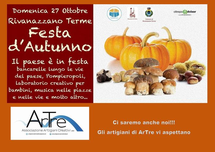 """Rivanazzano Terme 27 ottobre """"Festa d'autunno"""""""