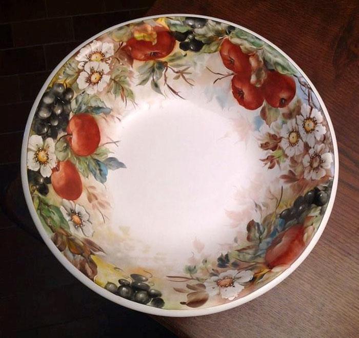 Ciotolone rustico - Olio molle su ceramica