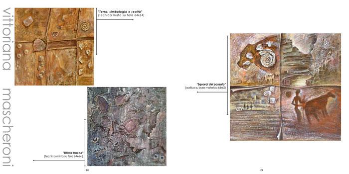 "ArTre - ""ARTE E NUOVI DIALOGHI""  TERRA - I Materici III ed. 2018 Vittoriana Mascheroni"